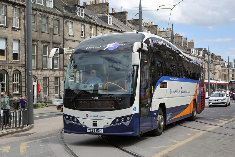 53814 YX66WOH, Edinburgh 18/5/2017