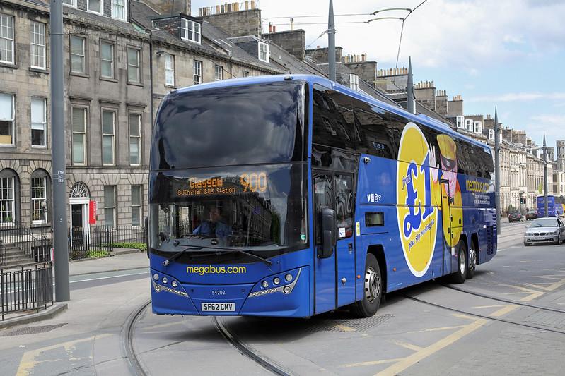 54202 SF62CMV, Edinburgh 18/5/2017