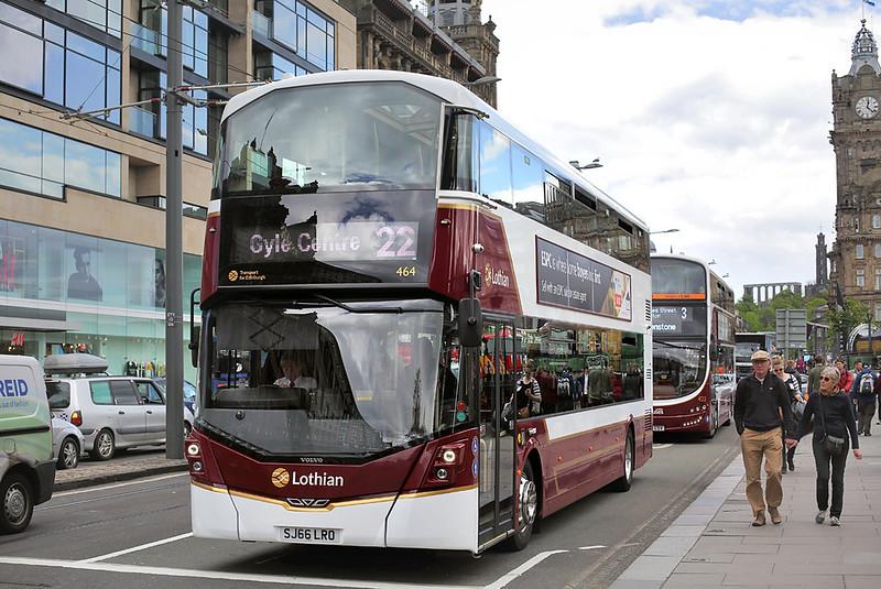 464 SJ66LRO, Edinburgh 18/5/2017