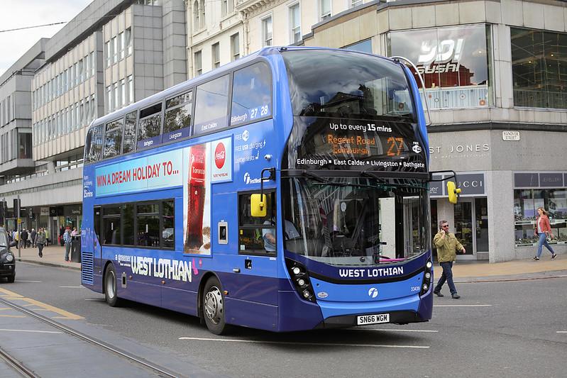 33439 SN66WGM, Edinburgh 18/5/2017