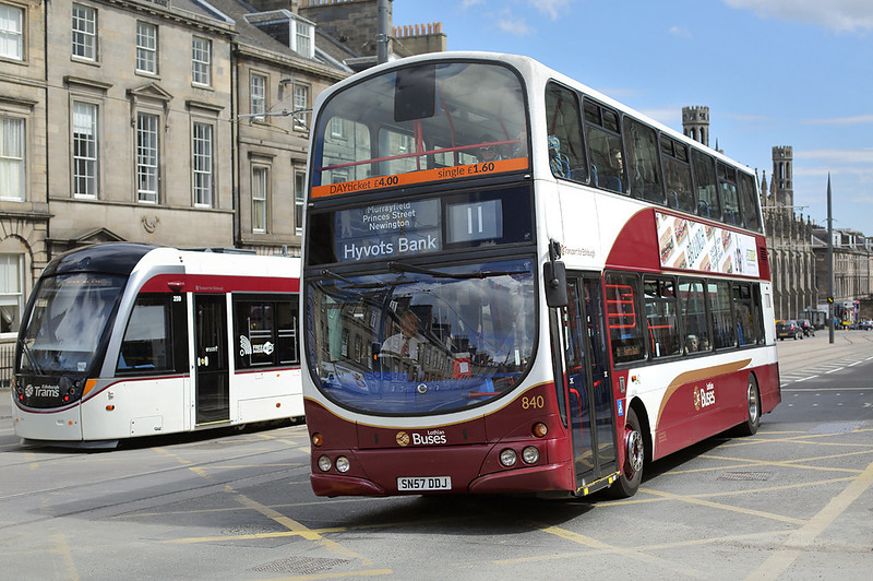 840 SN57DDJ, Edinburgh 18/5/2017