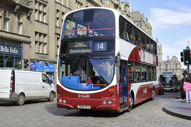 805 SN56AFO, Edinburgh 18/5/2017