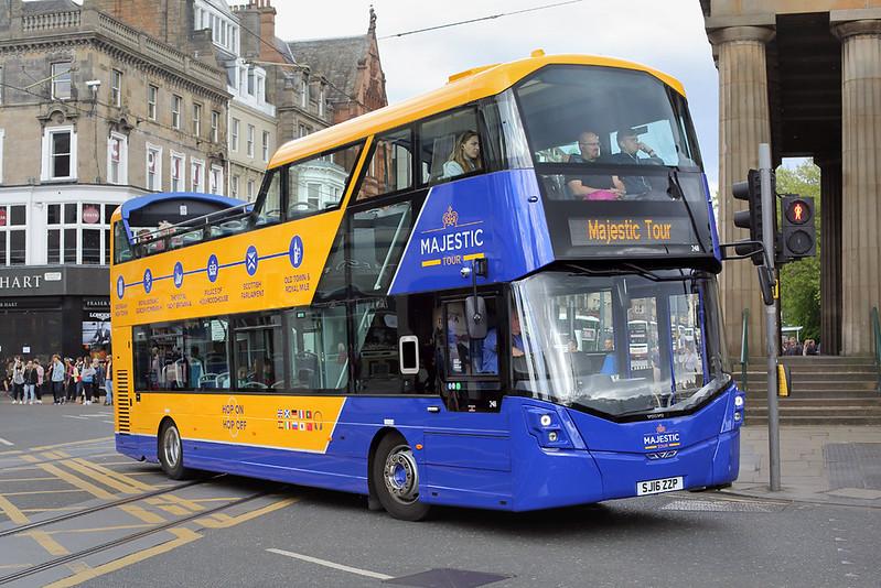 248 SJ16ZZP, Edinburgh 18/5/2017