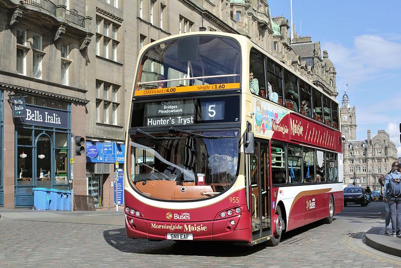 955 SN11EAF, Edinburgh 18/5/2017