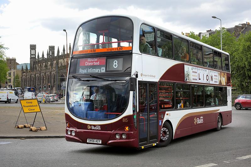 815 SN56AGY, Edinburgh 18/5/2017