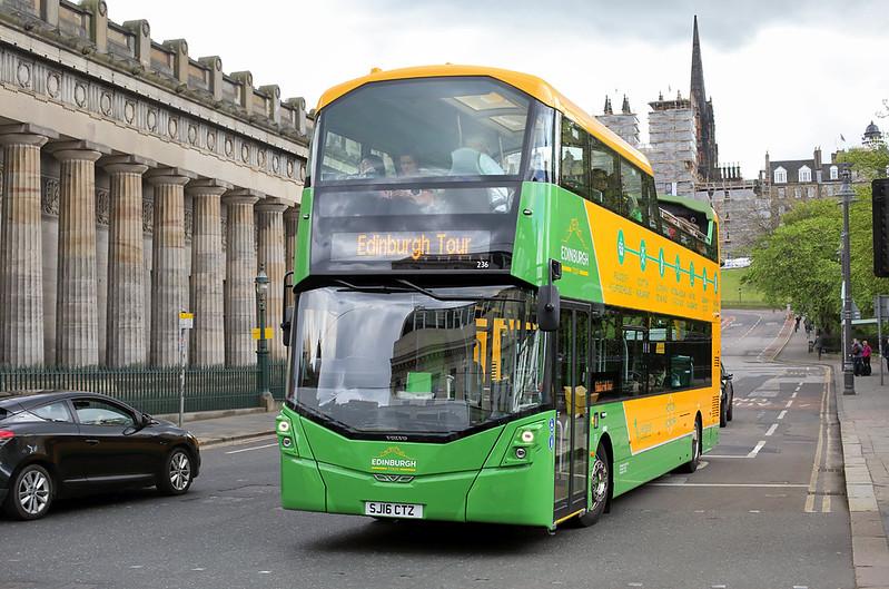 236 SJ16CTZ, Edinburgh 18/5/2017