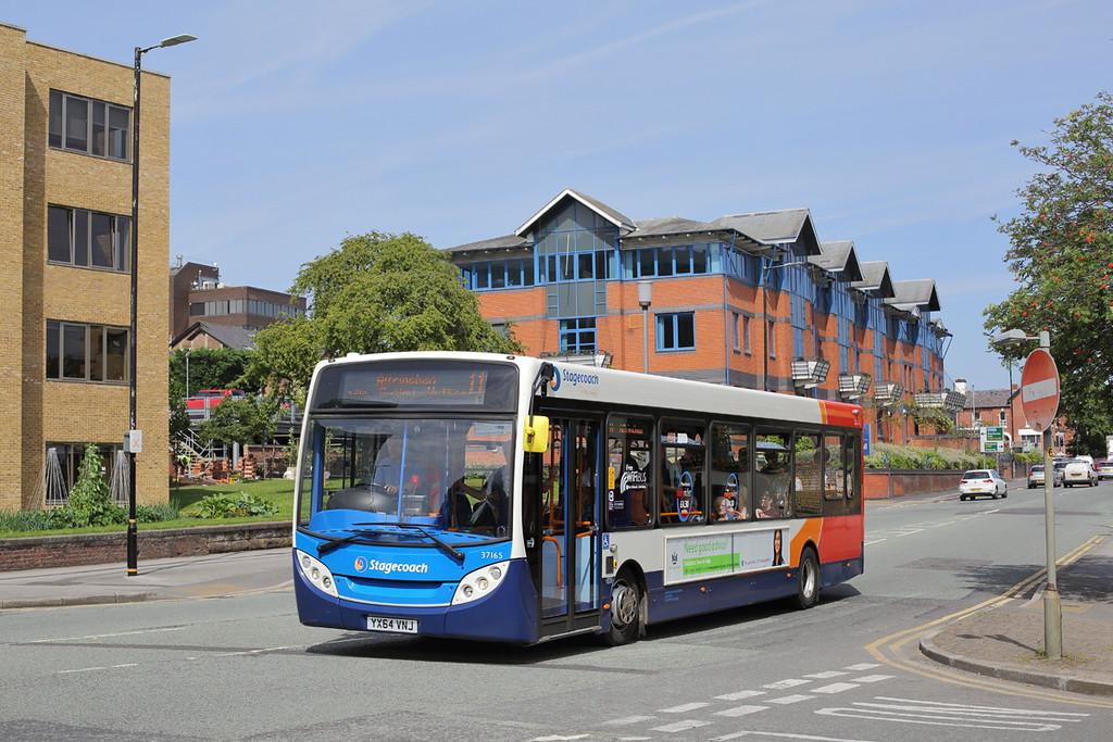 37165 YX64VNJ, Altrincham 18/7/2017