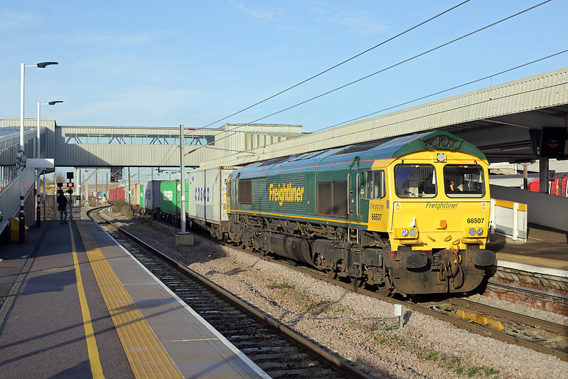 66507 Peterborough 18/12/2017<br /> 4L93 1034 Lawley Street FLT-Felixstowe FLT