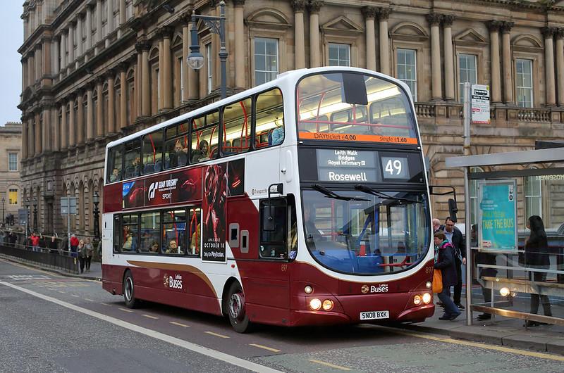897 SN08BXK, Edinburgh 19/10/2017