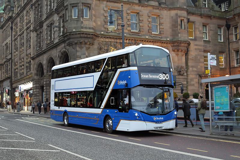 575 SJ67MFO, Edinburgh 19/10/2017