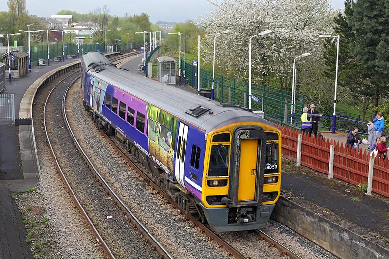 158853 Accrington 20/4/2017<br /> 1B15 0911 Blackpool North-York