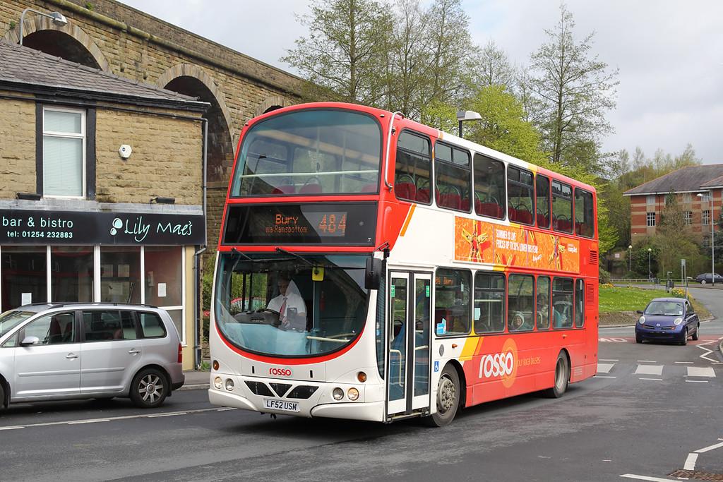 117 LF52USM, Accrington 20/4/2017