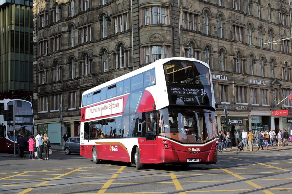 566 SA15VUS, Edinburgh 20/8/2017