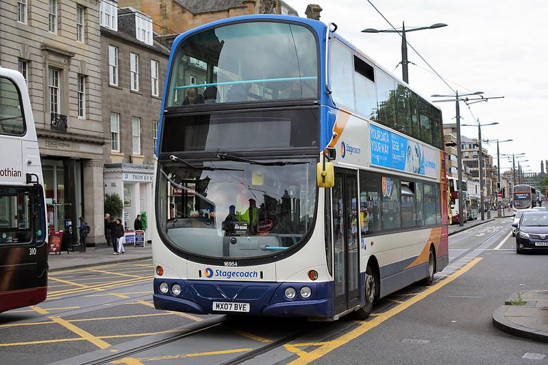 16954 MX07BVE, Edinburgh 20/8/2017