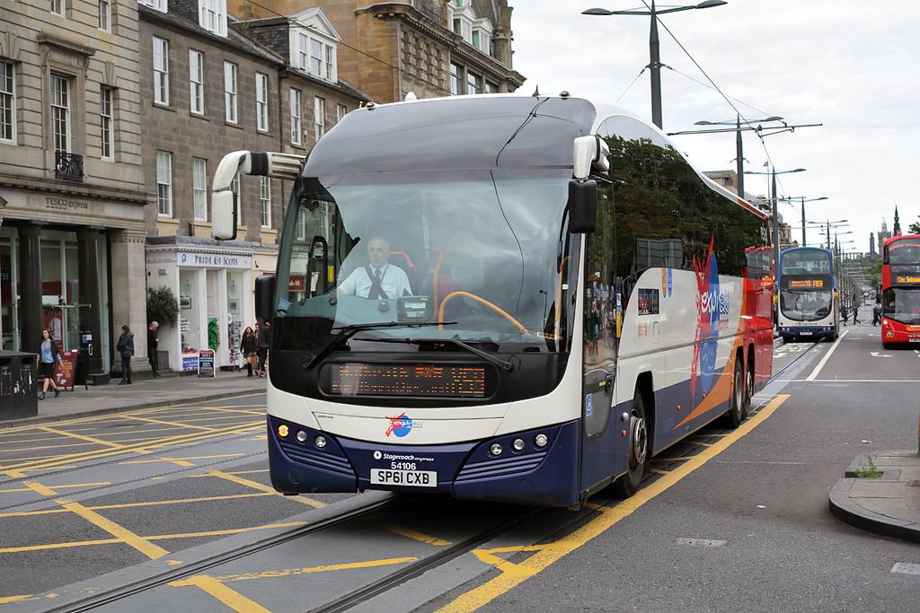54106 SP61CXB, Edinburgh 20/8/2017