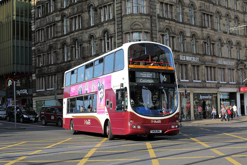 878 SN08BWL, Edinburgh 20/8/2017