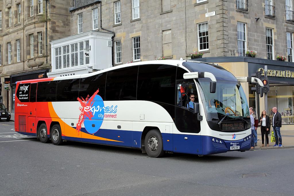 54103 SP61CWZ, Edinburgh 20/8/2017