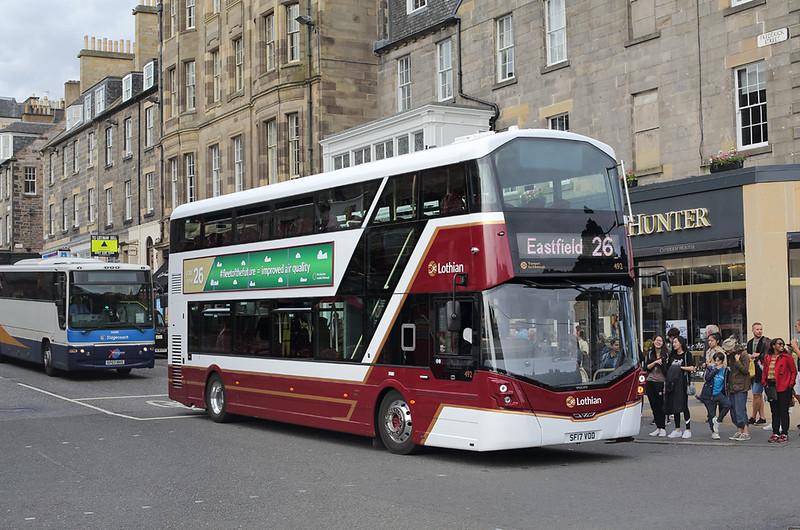 492 SF17VOD, Edinburgh 20/8/2017