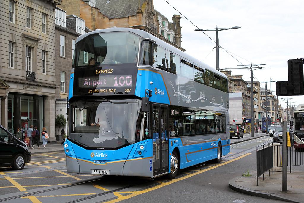 507 SF17VPG, Edinburgh 20/8/2017