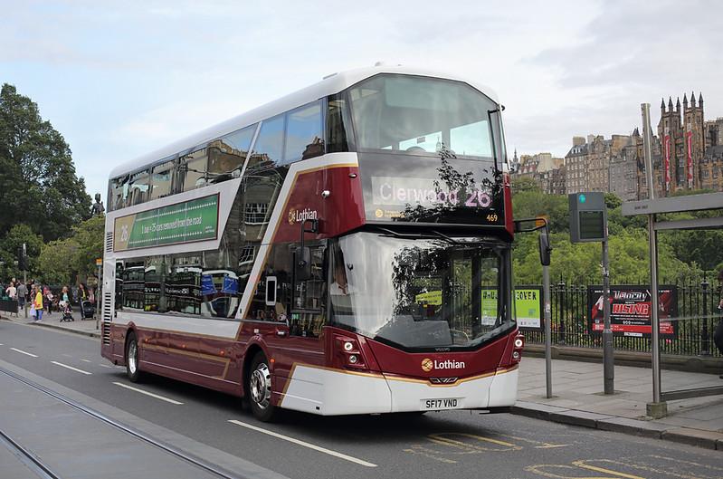 469 SF17VND, Edinburgh 20/8/2017