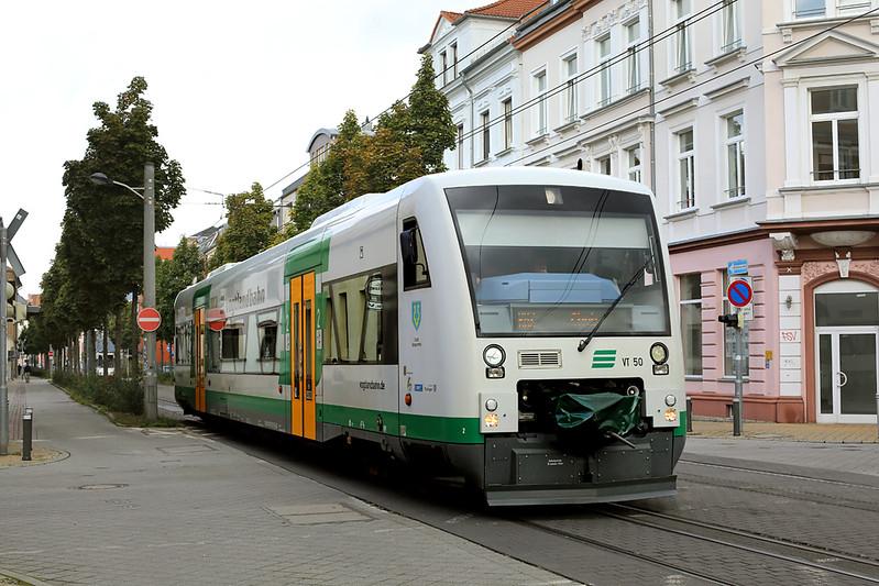 VT50 Zwickau Zentrum 20/9/2017<br /> VBG20977 1328 Zwickau Zentrum-Cheb