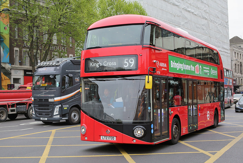 LT720 LTZ1720, Kings Cross 21/4/2017