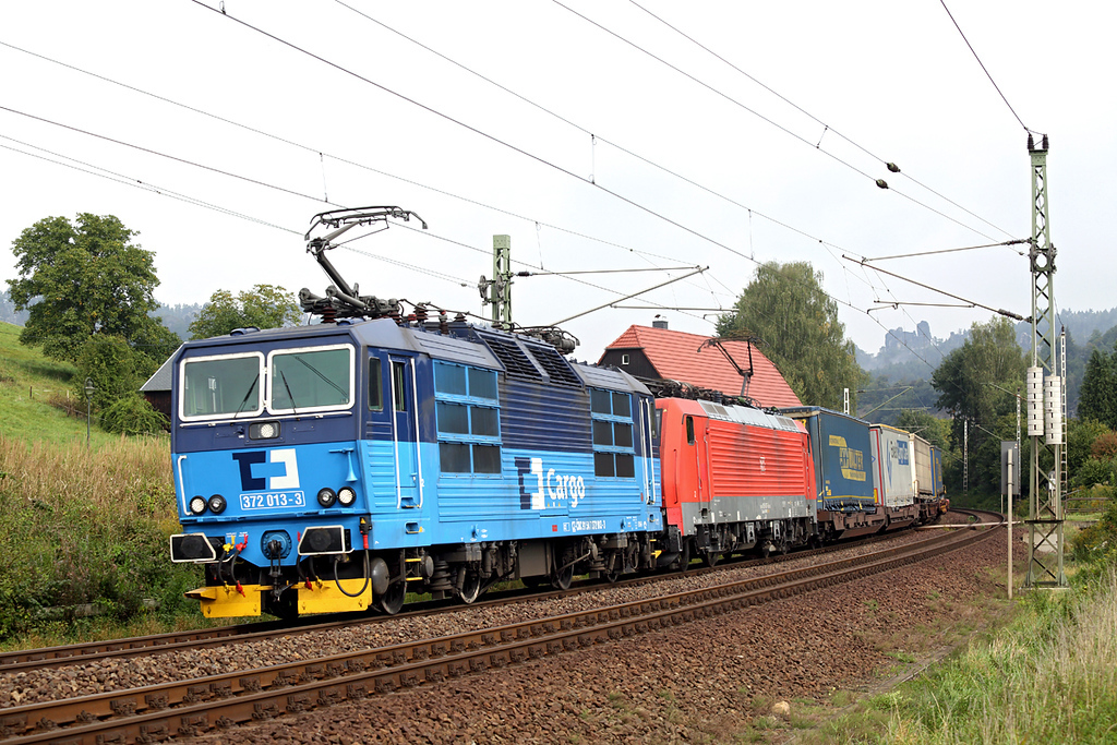 372013 and 189007, Kurort Rathen 21/9/2017