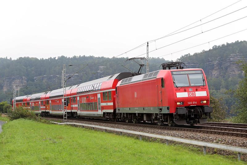 146014 Kurort Rathen 21/9/2017<br /> S1 0817 Meißen Triebischtal-Schöna
