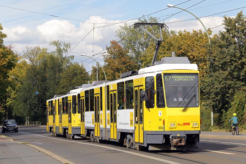 6134 and 6006, Köpenick Dammbrücke 22/9/2017