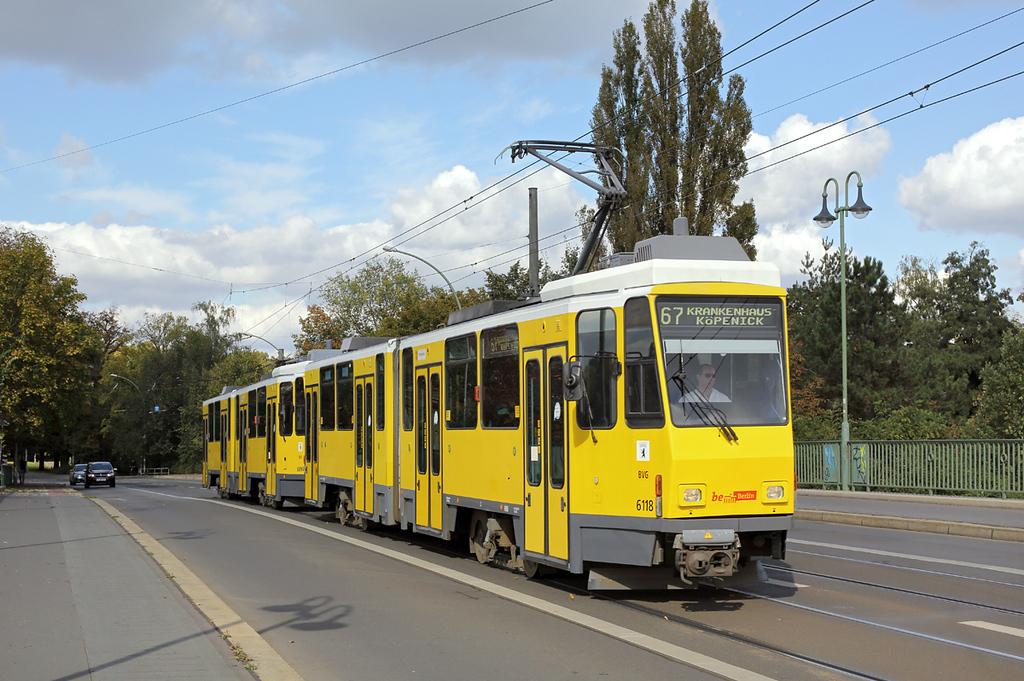 6118 and 6094, Köpenick Dammbrücke 22/9/2017