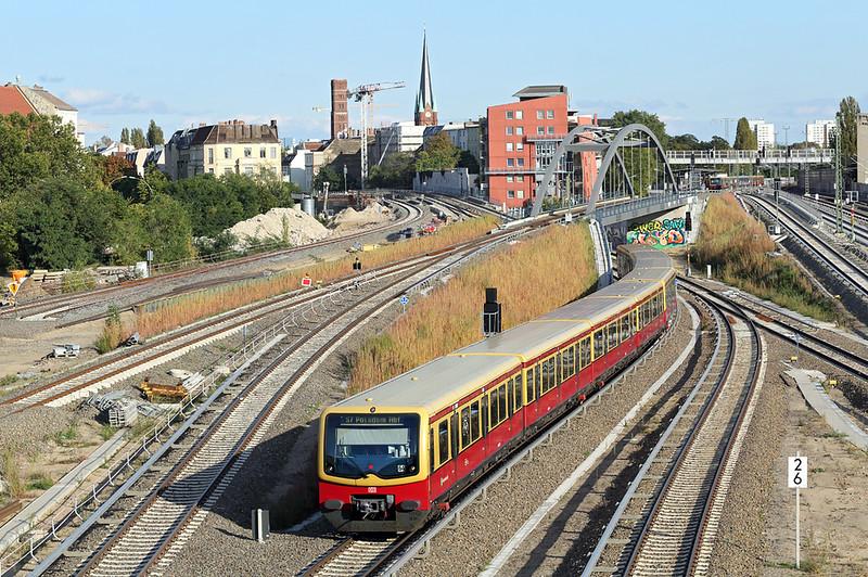 481153 Berlin Ostkreuz 22/9/2017<br /> S7 1620 Ahrensfelde-Potsdam Hbf
