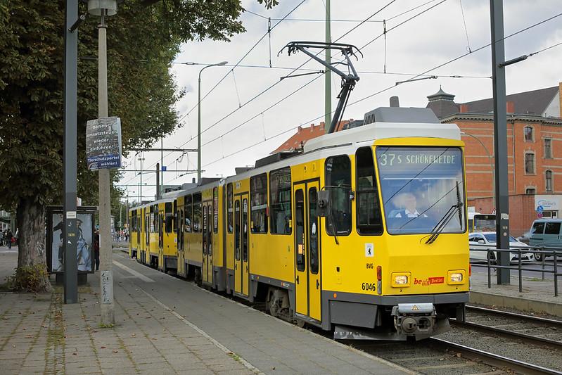6046 and 6159, S-Bahnhof Schöneweide 22/9/2017