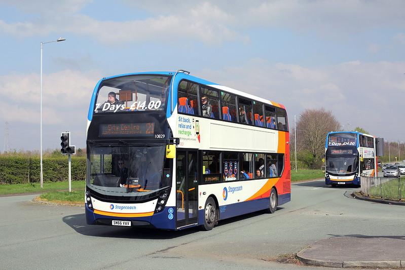 10829 SM66VAV, Fazakerley 23/3/2017