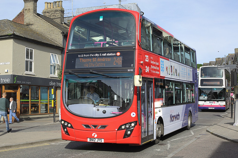 36192 BN12JYS, Norwich 23/5/2017