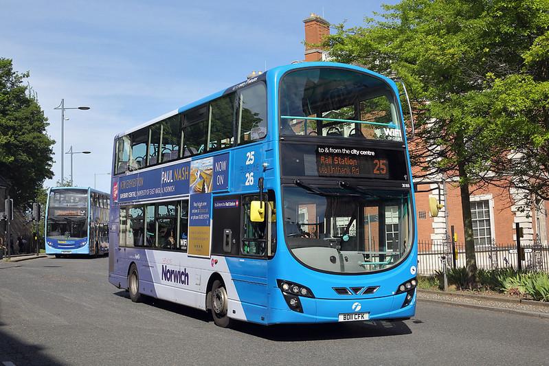 36166 BD11CFK, Norwich 23/5/2017