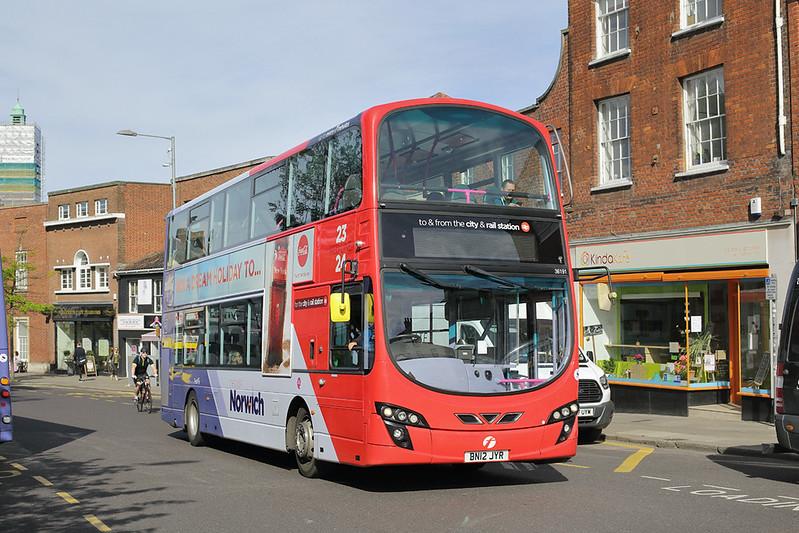 36191 BN12JYR, Norwich 23/5/2017