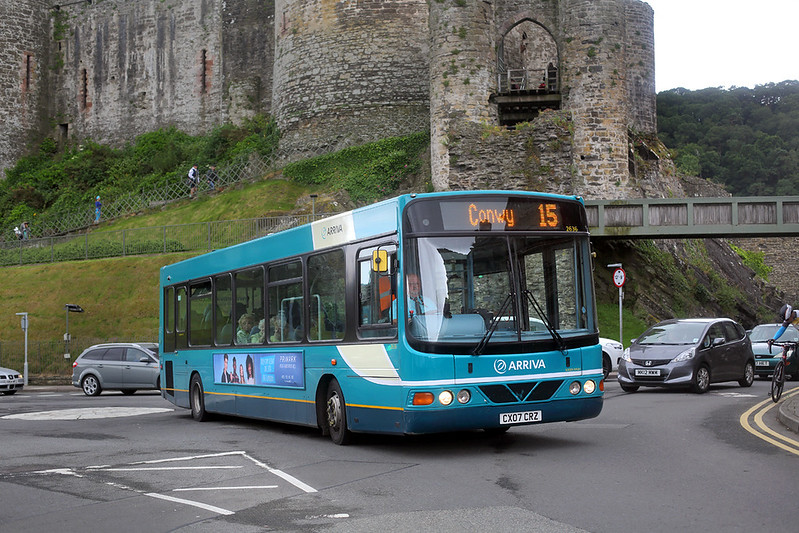 2636 CX07CRZ, Conwy 23/6/2017