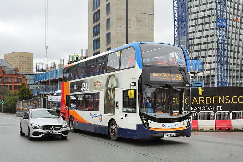 10861 SN17MKJ, Manchester 23/10/2017