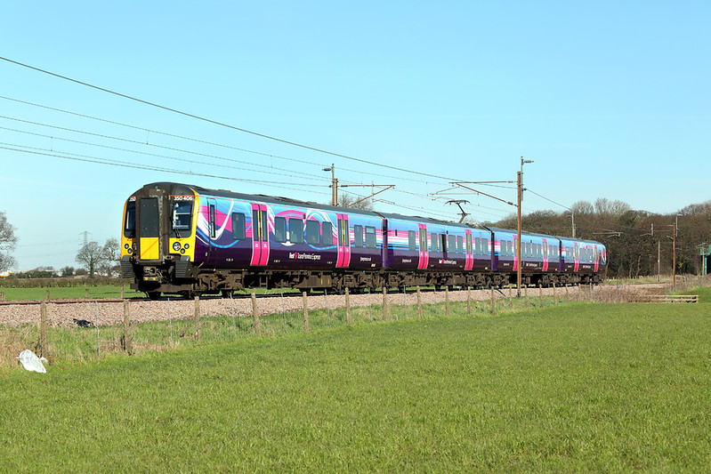 350406 Brock 24/3/2017<br /> 1M92 0709 Glasgow Central-Manchester Airport