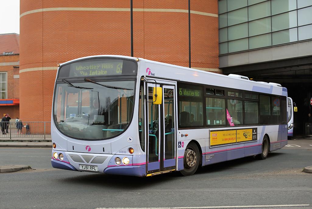 60899 YJ51RFL, Doncaster 25/2/2017