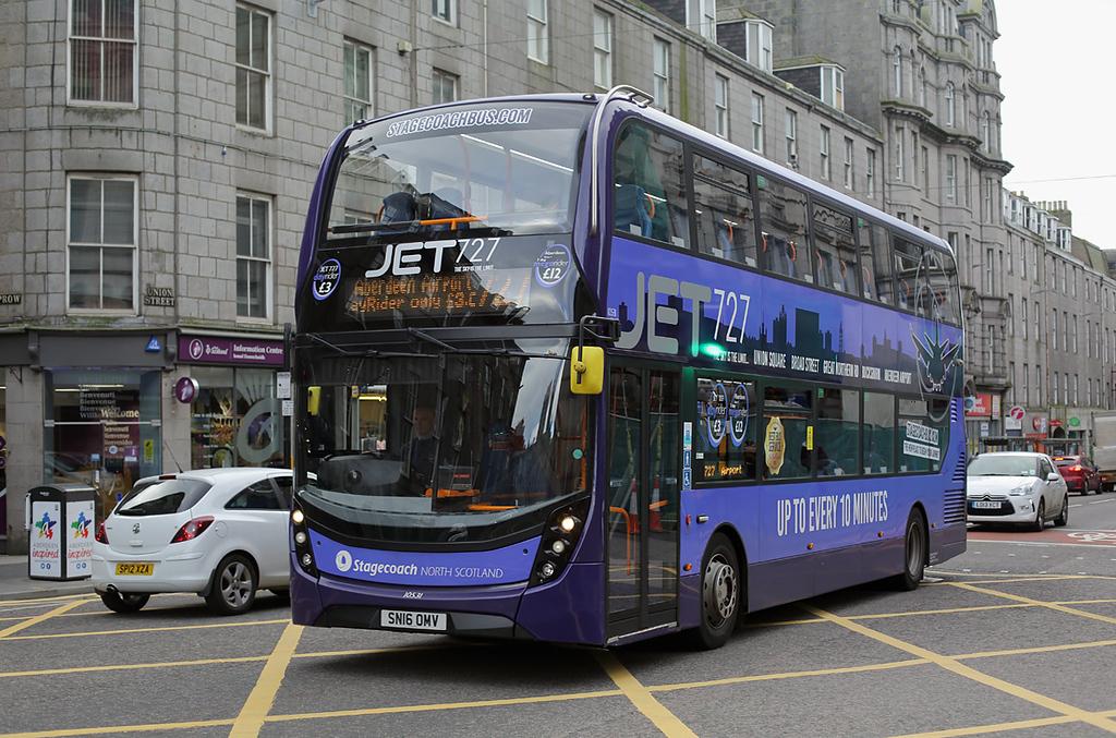10531 SN16OMV, Aberdeen 25/10/2017