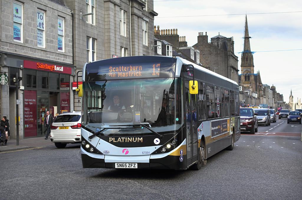 67084 SN65ZFZ, Aberdeen 25/10/2017