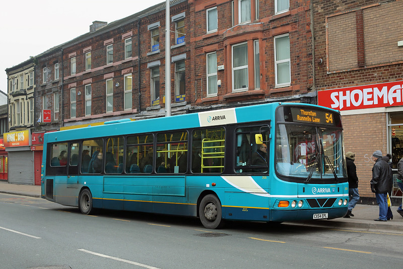 2506 CX54EPL, Bootle 26/1/2017