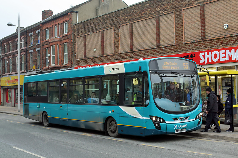 3022 MX59FGC, Bootle 26/1/2017