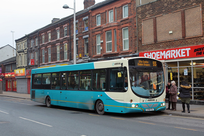 2929 CX58FZL, Bootle 26/1/2017