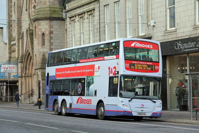 38215 SN09CCK, Aberdeen 27/10/2017