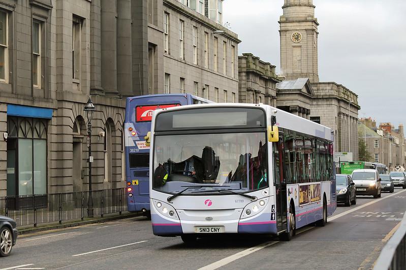 67799 SN13CNY, Aberdeen 27/10/2017