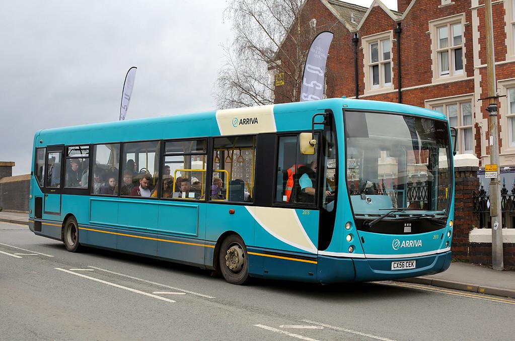 2613 CX56CEK, Crewe 29/3/2017