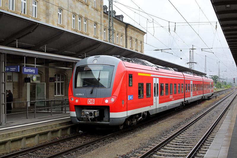 440804 Bamberg 29/6/2017<br /> RB58048 1438 Bamberg-Schlütern