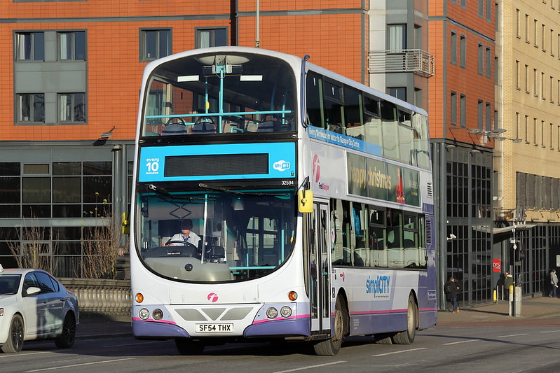 32594 SF54THX, Glasgow 30/11/2017